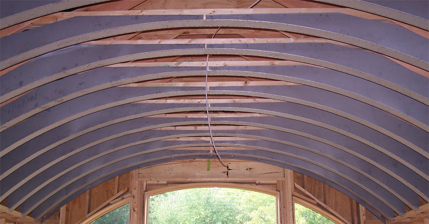 Jacobson Construction Barrel Vaulted Ceilings