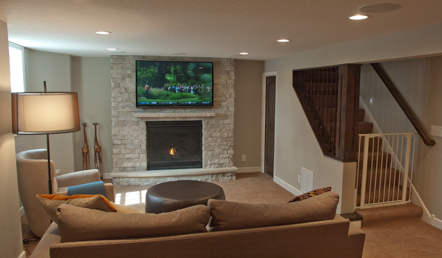 Jacobson Remodeling Edina Family Room