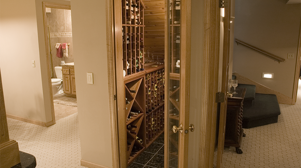 Jacobson Construction Great Wine Closet